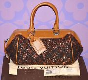 Louis Vuitton 3160 Sunshine Express Wooly Baby Souple Gold Sequin Bag Limited