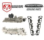 For Sprinter 2500 3500 Set Of Left And Right Intake Manifolds W/ Gaskets Genuine