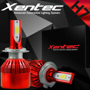 Xentec Led Hid Headlight Kit H7 White For Mercedes-benz C63 Amg S 2015-2016