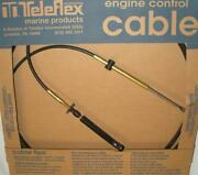 Teleflex Ccx20510 10 Ft Tfxtreme Control Cable For Johnson Evinrude Omc