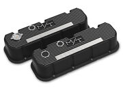 Holley 241-152 Tall M/t Valve Covers For Big Block Chevy Engines - Satin Blac...