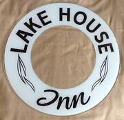 Glass Replacement For Glo Dial Vintage Electric Neon Clock Lake House Inn