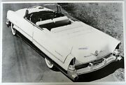 12 X 18 Black And White Picture 1956 Packard Caribbean Convertible Top Down
