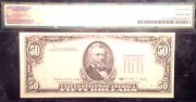 1988 50 Frn- Over Print On The Back-pmg 45