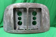 Used Oem 1960s Porsche 356 T6 Coupe Twin / Double Grill Model Engine Hood A