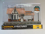 Woodland Scenics O Scale The Depot Built And Ready O Gauge Building Train Wds5852