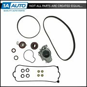 Timing Belt Water Pump Valve Cover Gasket Kit For Accord Odyssey Prelude 2.2l