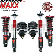 Godspeed Mmx3890 Maxx Coilovers Suspension Kit For Bmw 00-05 3-series E46 Awd