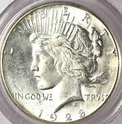 1928-s 1 Ms64 Pcgs- Pq-only 248 In Higher Grade- Peace Dollar