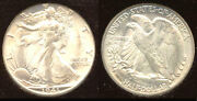 1941-s 50c Ms65 Icg-white- Walking Liberty Half Dollar
