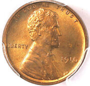 1910 1c Pr64rd Pcgs- Only 71 In Higher Grade- Lincoln Cent