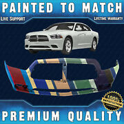 New Painted To Match Front Bumper Fascia Direct Fit For 2011-2014 Dodge Charger