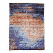 8and03910x11and03910 Wool And Silk Modern Broken Design Hand-knotted Rug R32420