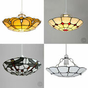 Style Ceiling Light Minisun Non Electric Elegant Lounge Stained Glass