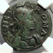 Ostrogoths Municipal Coinage Of Rome Ancient 493ad Roman Style Coin Ngc I68146