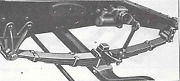 Chevrolet Chevy Gmc 1/2 Ton Truck Front Leaf Spring Assembly 1934-1936