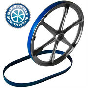 2 Blue Max Heavy Duty Urethane Band Saw Tires For Shopmaster Bs1400 10 Band Saw