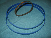 2 Blue Max Urethane Band Saw Tires And Drive Belt For Ryobi 3080 Band Saw Spares