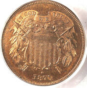 1870 2c Pr65rb Pcgs-only 24 In Higher Grade- Pq And 95 Red