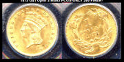 1873 G1 Open 3 Ms63 Pcgs-only 295 Finer