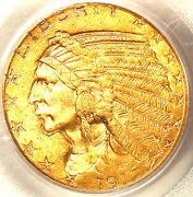 1912 5 Ms63 Pcgs-pq-only 555 In Higher Grade-mintage 790000-indian