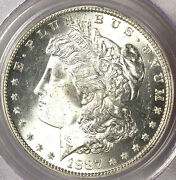 1887-s 1 Ms64 Pcgs-only 505 In Higher Grade-white And Frosty - Morgan