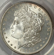 1891-s 1 Ms65 Pcgs-only 130 In Higher Grade-white-morgan Dollar