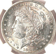 1884-s 1 Au55 Pcgs-only 1576 In Higher Grade-pq - Morgan Dollar