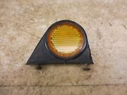 1968 Honda Cb350 Cl350 H1477-1and039 Rare Early Fender Reflector W/ Mount Cb450 Cl90