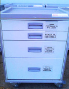Innerspace Stanley 7000 Series Harmony Medical Laboratory Cart Drawer On Casters