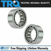 Trq Axle Shaft Wheel Bearing Rear Pair Set For Gm Dodge Ford New