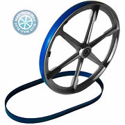 2 Blue Max Urethane Band Saw Wheel Belts For Delta Shopmaster Replaces 1341591