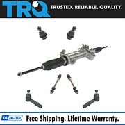 Trq 7pc Steering And Suspension Kit Rack And Pinion Ball Joints Sway Bar End Links