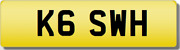 Swh Kg Kgs Wh Private Cherished Registration Number Rare 5 Digit Swh Plate