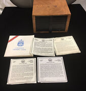 The Box Of 1976 Canada Olympic, 14 Pcs 5 And 14 Pcs And10 Silver Coins-limited Edit