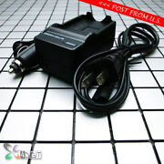 Ac Wall Car Battery Charger For Canon Nb-4l Nb4l Digital Ixus 100 110 120 130 Is