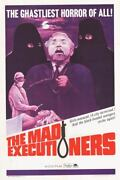 The Mad Executioners Original Krimi Movie Poster Maria Perschy/wolfgang Preiss