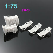 Zy21075 24pcs Model Trains Oo Scale 175 Bench Leisure Chair Settee Scenery