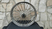18x4.25 Dna Fat Spoke Mammoth Rear Abs 08-up Wheel For Harley Softail Heritage