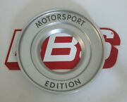 1 Bbs Rc Motorsport Edition Center Cap Plate 72mm Opening 09.23.502