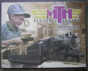 2001 Mth Electric Trains Volume 1 Large Soft Cover Book - Premier And Railking