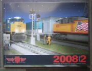 2008 Mth Electric Trains Volume 2 Large Soft Cover Book - 0 Gauge Model Trains