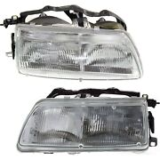 Headlight For 90-91 Honda Civic Dx Lx Si Rt 4wd Ex Cx Crx Si Hf Left And Right