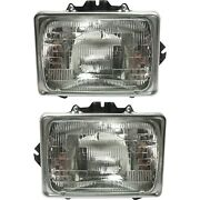 Headlight For 1999-2007 Ford F-250 Super Duty Driver And Passenger Side