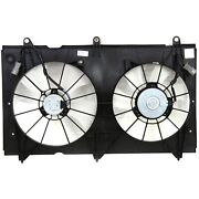 Radiator Cooling Fan For 2003-2007 Honda Accord 2.4l 4cyl Engine, Denso Type