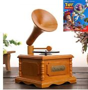 Wooden Phonograph Music Box  ♫ Toy Story ♫