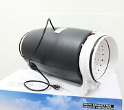 8 Silent Inline Duct Fan Ventilation Hydroponics Exhaust Meeting Room Office