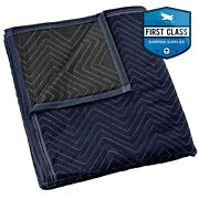 Moving Blanket Furniture Pad - Pro Economy - 80 X 72 Navy Blue And Black