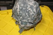 Us Military Issue Acu Camouflage Mich Ach Helmet Cover Size Large X-large