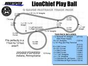 Lionel Fastrack Lionchief Play Ball Track Layout Pack 7' X 12' O Gauge New